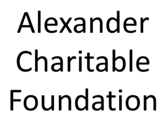 alexander charitable foundation
